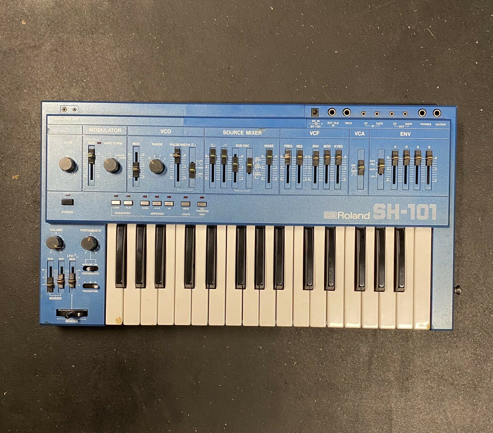 PERFECT CIRCUIT NEW The Little Book of Synths Roland SH101 Vinyl STICKER
